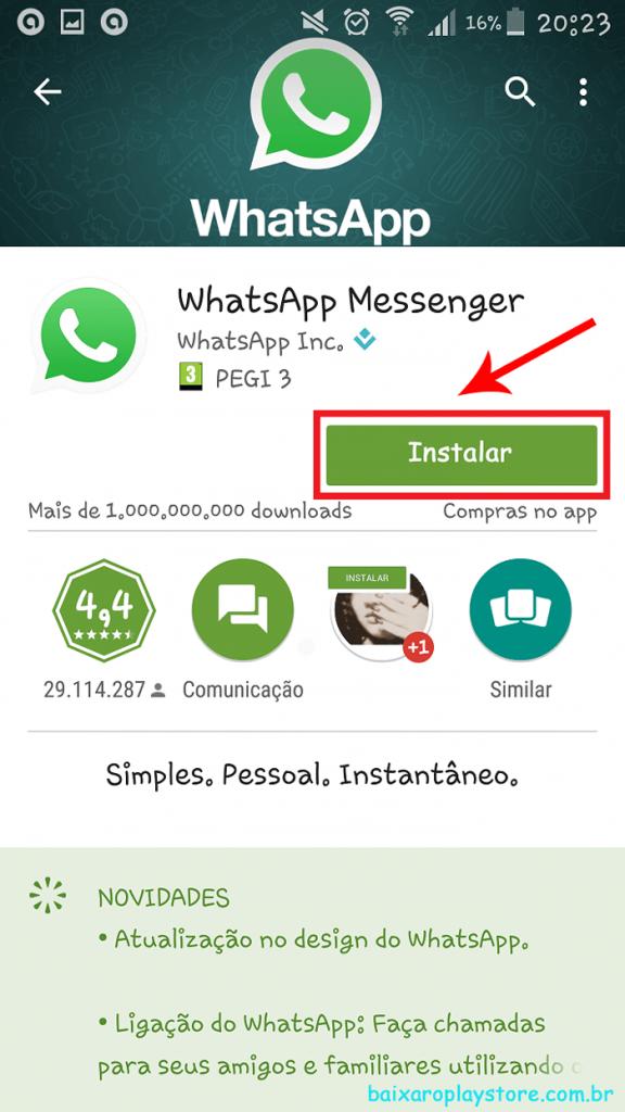 Instalar-whatsapp