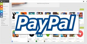 how to link paypal to google play store