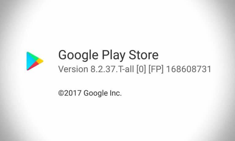 Nova versão da Play Store 8.2.37 está disponível para download