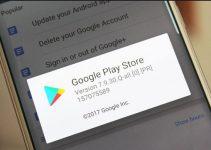 nova versão Play Store 7.9.30