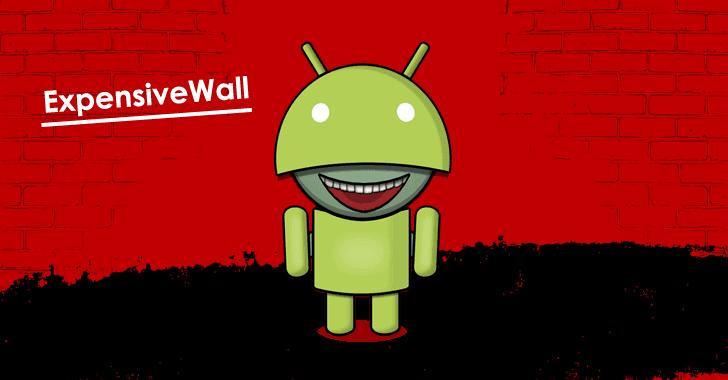 Novo malware ExpensiveWall escondido na Play Store infecta milhões de usuários