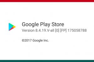 Google Play Store recebe nova versão 8.4.18
