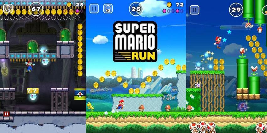 aplicativo super mario run