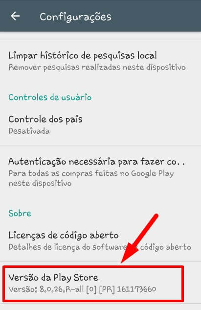 Play Store 8.0.26